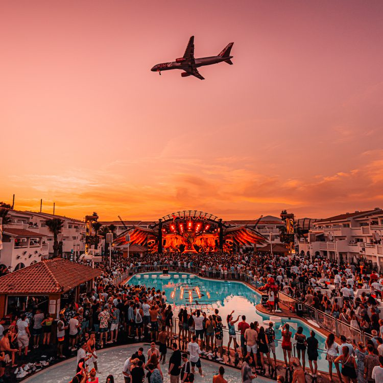 AUG 06 — 2019, Tomorrowland Ushuaïa, Ibiza, Spain